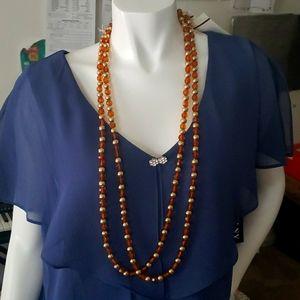 2 tone fashion beads